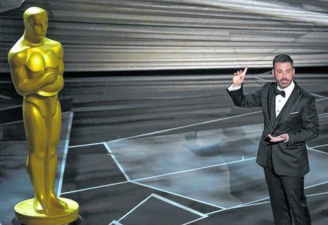 Kimmel dijo que el Oscar representa el tipo de hombre que necesitamos ahora mismo.