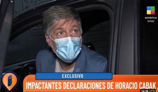 Horacio Cabak rompió el silencio y lanzó una fuerte amenaza a Rocío Oliva.