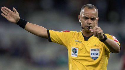 Argentina ante Uruguay será arbitrado por el brasileño Wilton Sampaio