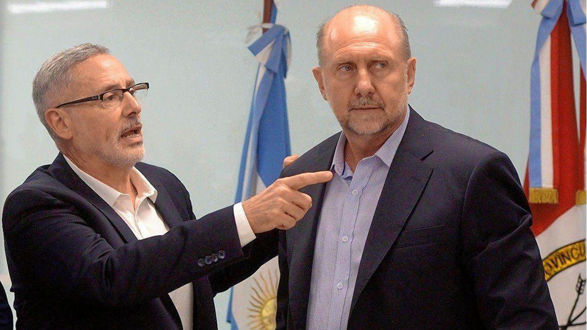 el-ministro-seguridad-marcelo-sain-y-el-gobernador-omar-perotti