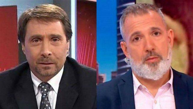 Eduardo Feinmann y Pablo Dugan volvieron a cruzarse con extrema dureza en Twitter