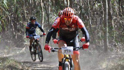 El circuito de mountain bike es uno de los grandes atractivos, aunque no es para principiantes.