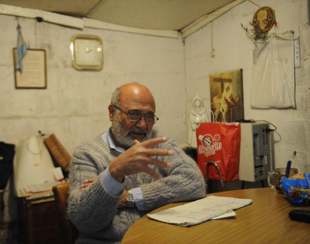 Joaquín Núñes dijo que en las villas la miseria y el hambre sigue estando muy presente. (Foto: S. Suárez Meccia)