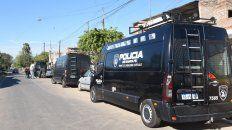 Los allanamientos fueron realizados por efectivos de la Tropa de Operaciones Especiales.