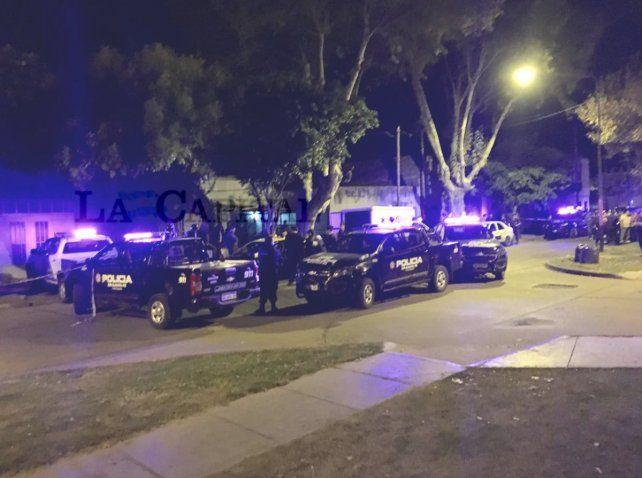 Se realizó un amplio operativo luego del homicidio de un taxista en zona sur.