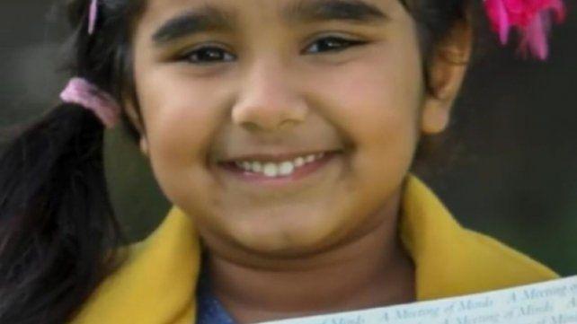 Una nena de tres años tiene un coeficiente intelectual similar al de Einstein