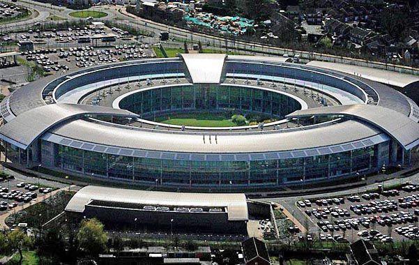 La sede del Cuartel General de Comunicaciones del gobierno británico en Cheltenham