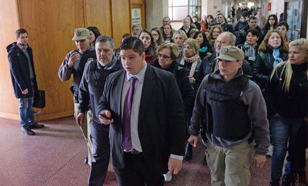 La audiencia pública está a cargo del juez Adolfo Prunoto Laborde. (Foto: S. Salinas)