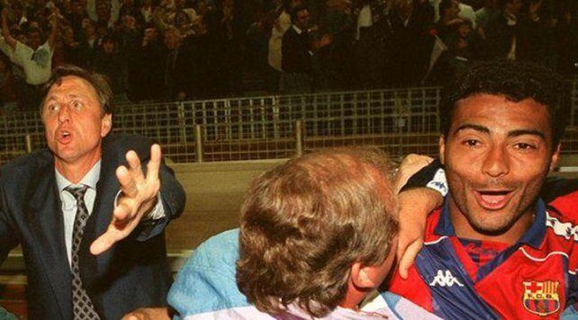 La anécdota de Johan Cruyff cuando permitió a Romario ir dos días al carnaval de Río