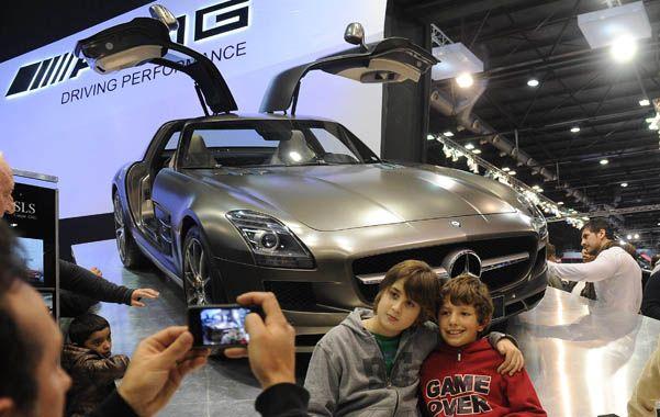 Exposición. Los nuevos modelos se mostraron en el Salón del Automóvil
