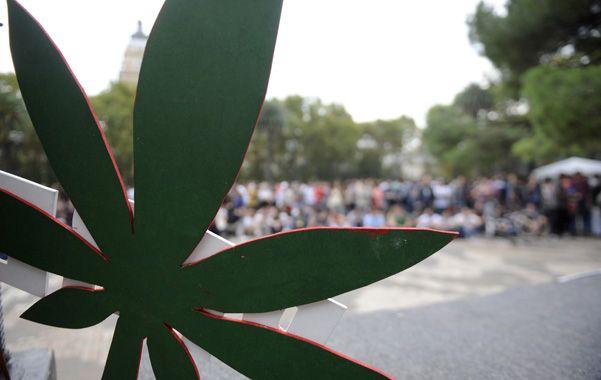 Una vez al año Rosario es escenario de una marcha a favor de la despenalización de la marihuana.