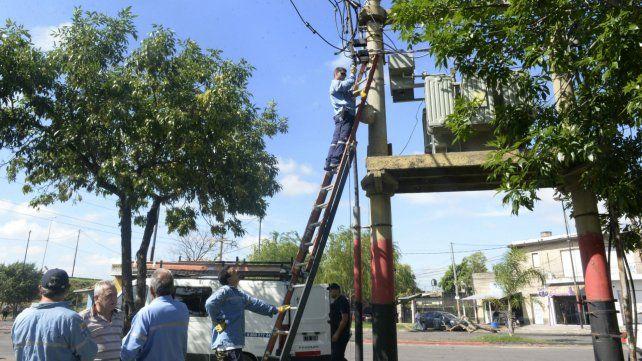 La EPE anunció que una amplia sector del sudoeste de Rosario resultó afectado.