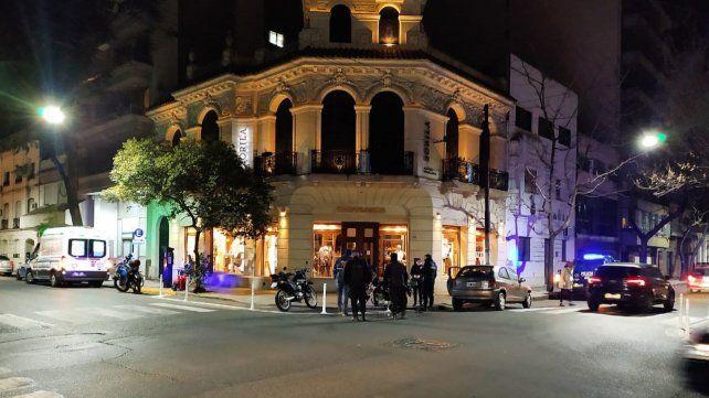 El siniestro vial se registró en la esquina de Tucumán y Presidente Roca.