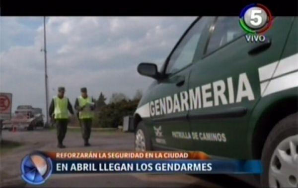 Fein destacó que la llegada de Gendarmería a Rosario será para garantizar mayor seguridad