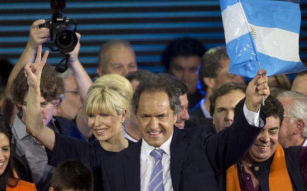 Scioli fue el más votado en las elecciones primarias.