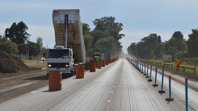 Reiniciarán las obras de reparación en la estratégica ruta nacional Nº 33