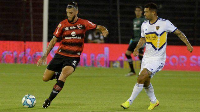 Manuel Guanini fue titular contra Boca por la ausencia de Fontanini. Ahora jugará desde el inicio por Gentiletti.