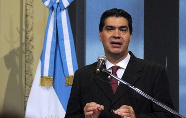 Al hablar en su habitual conferencia de prensa en Casa Rosada