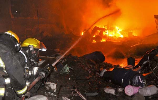 La detonación que ocurrió cerca de las 21 en la planta ubicada en Avellaneda al 3000 de barrio Alta Córdoba.