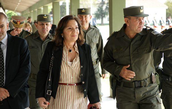Cristina Caamaño: En Buenos Aires con Gendarmería y Prefectura los homicidios bajaron de 165 a 125 en un año.