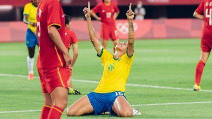 Brasil goleó a China y Chile cayó ante Gran Bretaña en el inicio del fútbol femenino olímpico