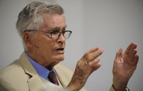 El científico Mario Bunge