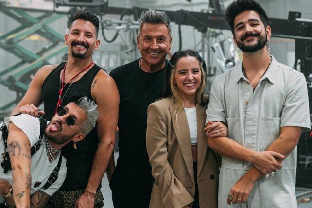 """La familia """"unita"""". Montaner"""