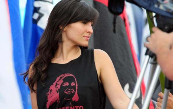 Mariana Robustelli (Movimiento Evita).