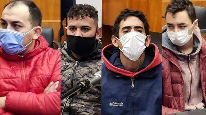 Los cuatro acusados por el crimen de Calleja están con prisión preventiva.