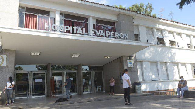 El hospital Eva Perón de Granadero Baigorria. Denunciaron que hubo vacunación irregular.