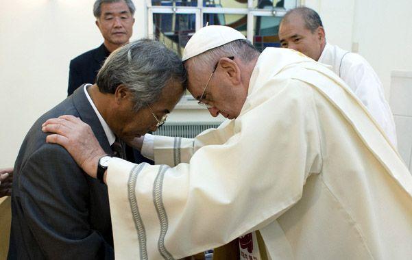El Santo Padre recibió ayer a familiares de víctimas del accidente del ferry que enlutó a Corea del Sur.