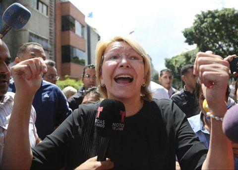 echada. La fiscal Ortega Díaz el pasado 5 de agosto