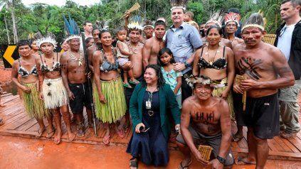 El presidente Jair Bolsonaro le respondió a Alberto Fernández con una ironía: Selva!