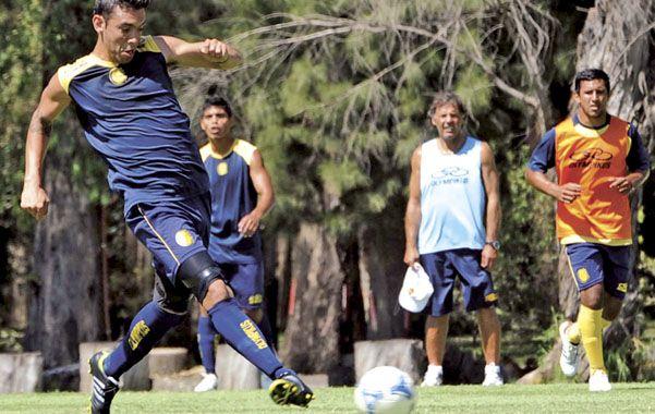 Talento. Nery Domínguez fue una revelación que despertó mucho entusiasmo en los hinchas canallas.