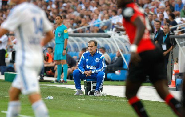 Bielsa optó por la continuidad y presentó el mismo equipo que hace una semana enfrentó a Evian