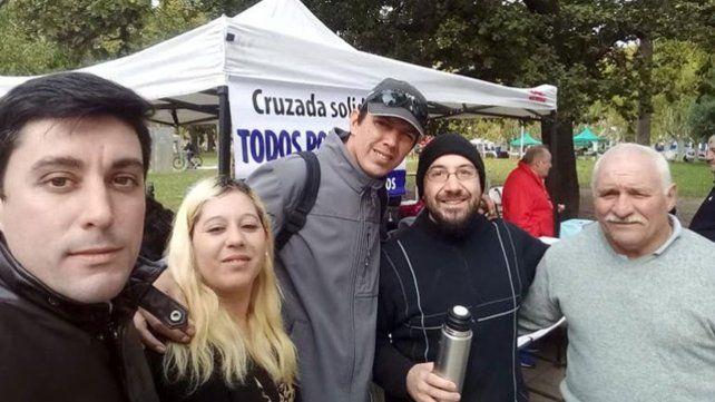 Solidaridad. Los vecinos de Casilda suman esfuerzos para ayudar a Osvaldo con una colecta benéfica.