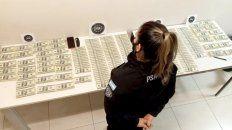 Incautan 430 mil dólares que una pasajera transportaba en una valija en el aeropuerto de Corrientes