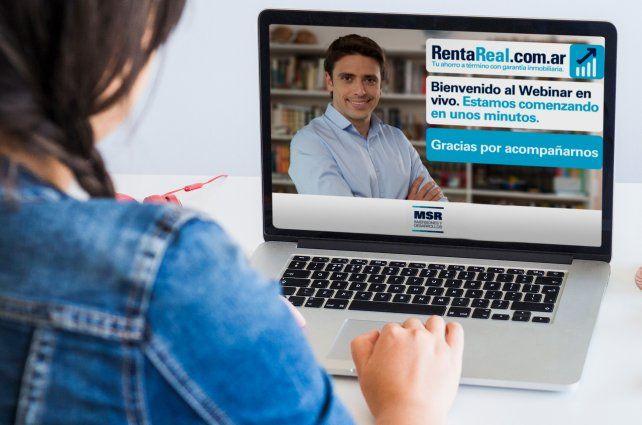 Webinar gratuita sobre RentaReal
