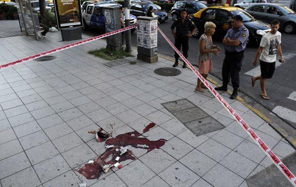 tarde sangrienta. Rodríguez fue asesinado de un tiro en la nuca el 5 de febrero de 2013 en Corrientes y Pellegrini.