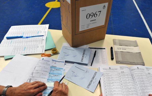 A las urnas. Las reformas propuestas están en sintonía con los regímenes electorales de Estados Unidos y Uruguay.
