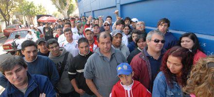 Quedan pocas entradas y Madelón dijo estar más tranquilo con el apoyo del presidente