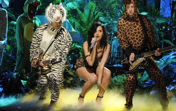 Felina. Katy Perry promocionó su nuevo single