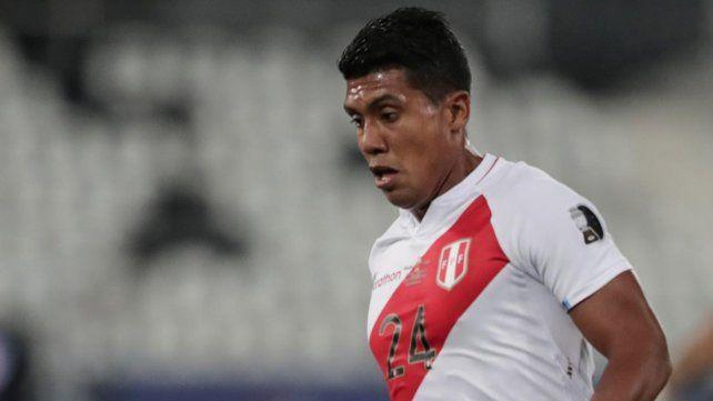 Raziel García viene de jugar la Copa América con Perú.