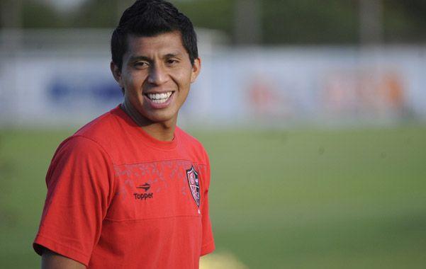 Cruzado jugó nueve partidos con la camiseta de Newell's en el torneo Final y marcó dos goles.