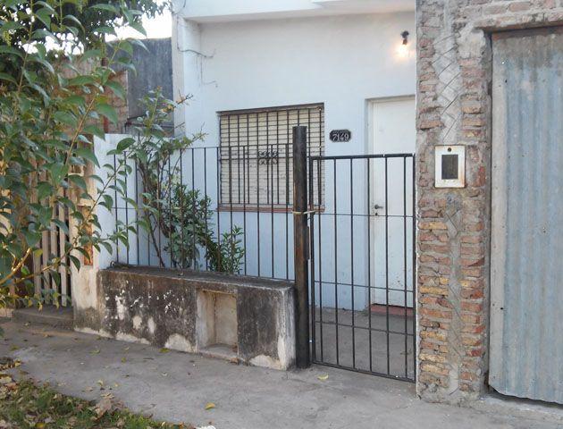 El domicilio donde vivía la víctima. El hecho ocurrió el martes. El hombre nunca pudo recuperarse. (Foto: Sebastián S. Meccia))