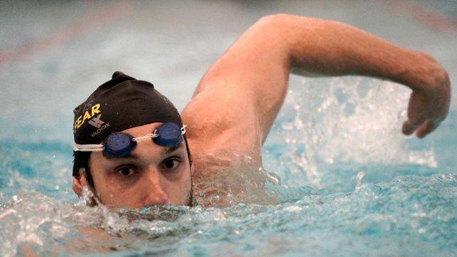 Pipo Carlomagno nadará la primera de las tres pruebas en las que competirá en Tokio 2020.