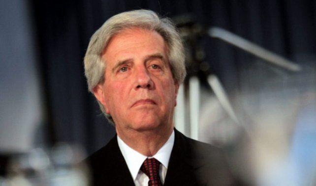 Tabaré Vázquez fue presidente hasta el 1º de marzo pasado. El año pasado le hallaron un cáncer en un pulmón.