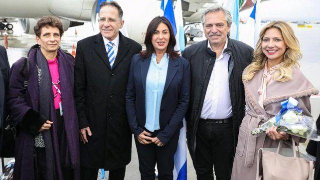 Cómo fue el arribo de Alberto Fernández a Israel