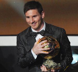 El futbolista rosarino ganó cuatro veces el Balón de Oro.