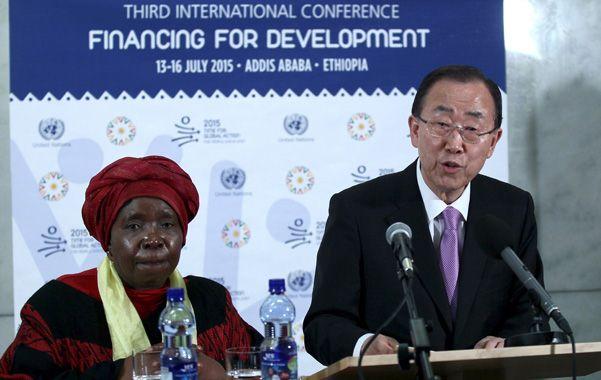 Presentación. El secretario de la ONU
